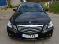 MERCEDES-BENZ E CLASS 2.1 E220 CDI BLUEEFFICIENCY SE 4d AUTO 170 BHP FRONT & REAR PARKING AID +