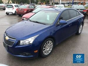 2012 Chevrolet Cruze ECO ~ NEW PRICE!!! ~ GORGEOUS COLOUR!! London Ontario image 1
