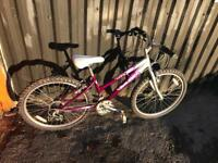 """Xmas Gift? Raleigh Krush Girls 24"""" Wheels Kids Bike. Great condition. Free Lock, Lights & Delivery."""