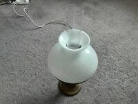 Victorian style Table lamp in working order