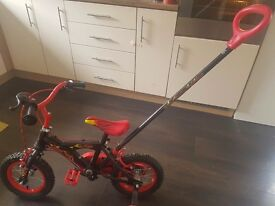 12inch Kids Bike With Parent Handle