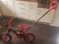 12inch Kids Bike With Parent Handle