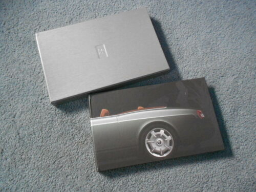 2004 ROLLS-ROYCE 100EX Experimental Concept Media Press Kit CD Files Brochure