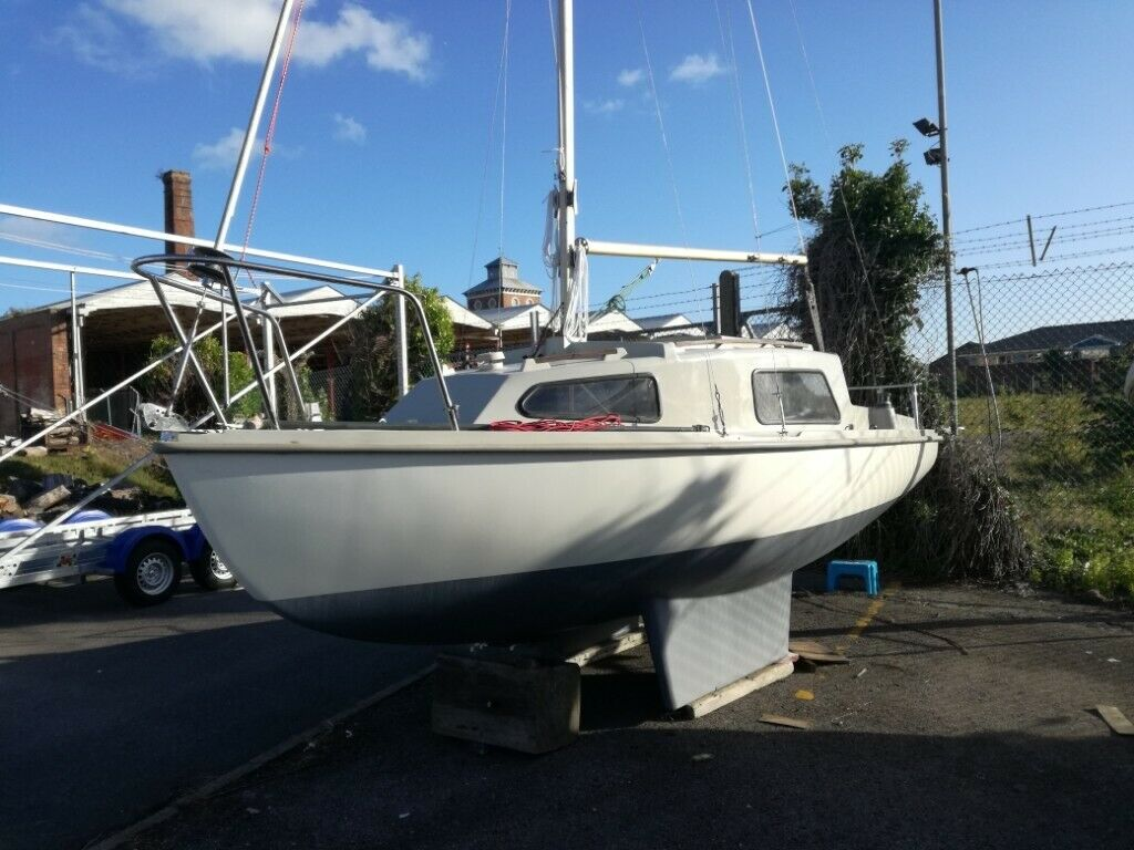 SADLER SEAWYCH 19FT GRP SAILING BOAT (TRAILERABLE) | in Guildford, Surrey |  Gumtree