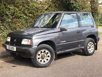 1994 SUZUKI VITARA JLX, 1.6 ENGINE, 3 DOOR, HARD TOP, SERVICE HISTORY & NEW MOT.
