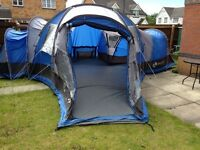 Zenith 6 (Big) Tent with canopy & carpet