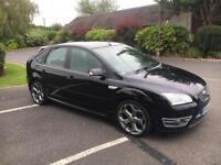 Ford Focus ST -3 2006 / Black / Superb Condition / FSH / 5 Door / Totally Standard / Not Modified !