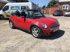 2007 Mini Cooper Convertible 1.6 Petrol
