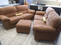 Harveys 2X Sofas & Footrest (£4000 new)