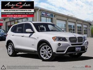 2014 BMW X3 xDrive28i AWD ONLY 92K! **TECHNOLOGY PKG** CLEAN...