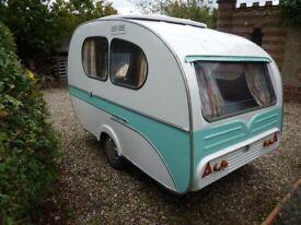 Rare 1969 Mostard Yvonne Caravan for sale