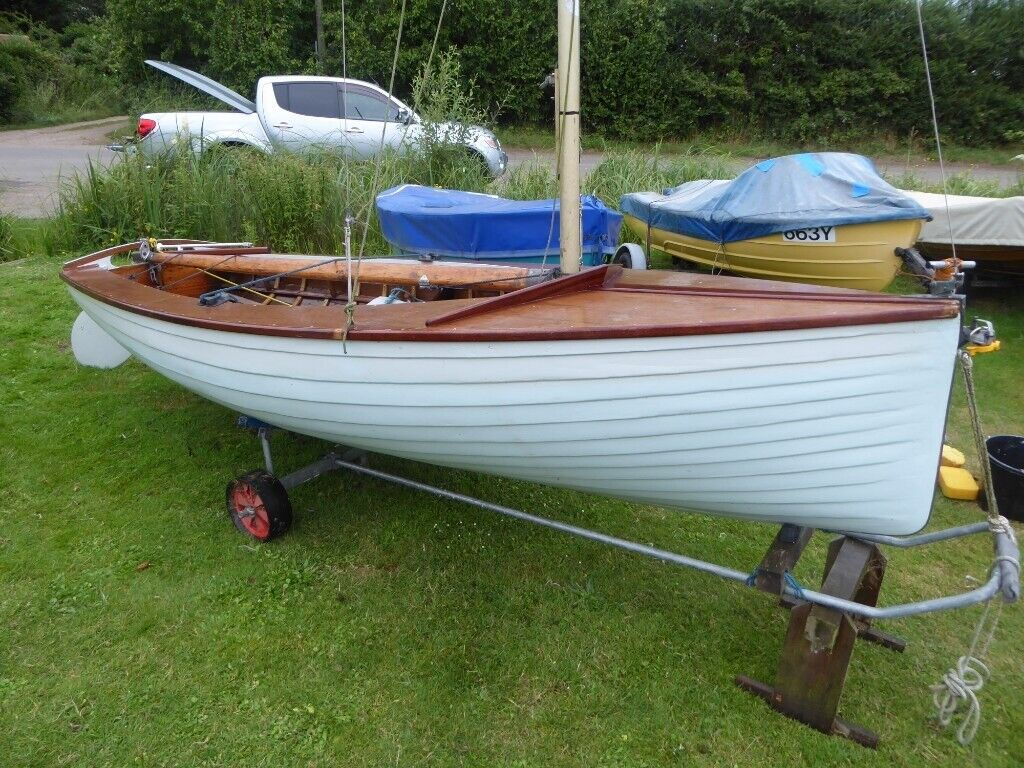 Vintage National 12 Dinghy Sail No 264