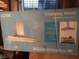 Chimney hood extractor