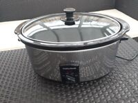 Slow Cooker - Morphy Richards model number 48715 - 4.5 litres working capacity