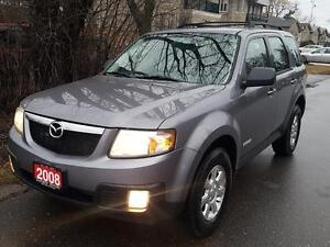 2008 Mazda Tribute GS P.GROUP,ALLOYS,Fog lights,CERTFIED$4975