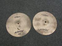 """Zildjian Scimitar 12"""" Hi Hat Cymbals"""