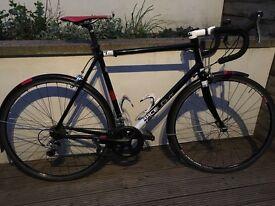 Bike Kinesis Racelight T2 Garmin 810 With HR Strap Mavic Wheels Catlike Helmet New Shimano Cleats