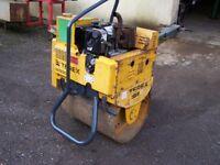 Terex MBR 71 diesel roller