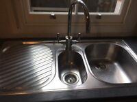 FRANKE Chrome Sink & Tap