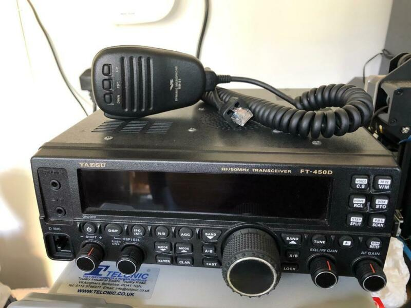 Yaesu FT 450 D HF Transceiver , used for sale  Kings Norton, Birmingham