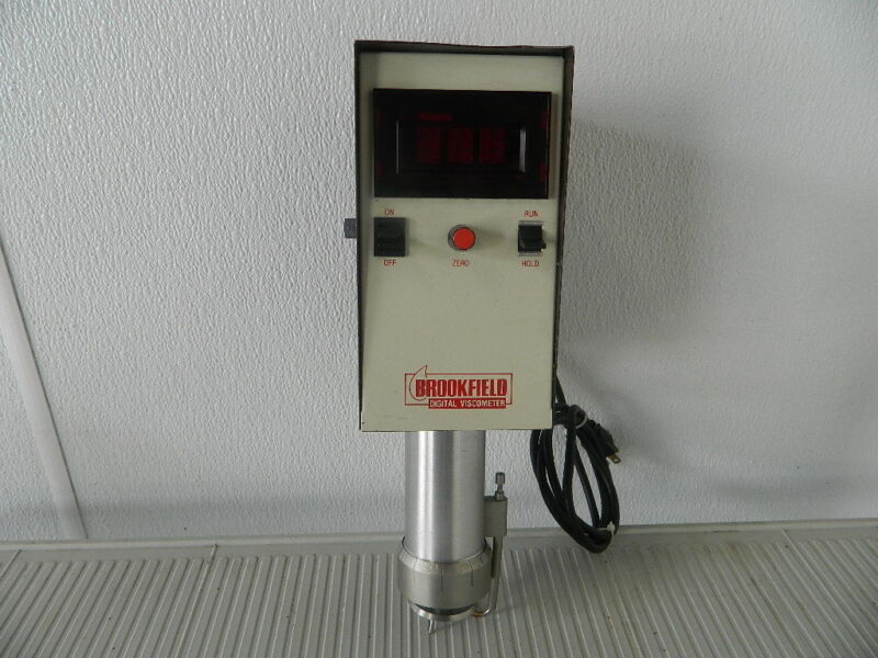 BROOKFIELD VISCOSEL DIGITAL VISCOMETER MODEL RVT DCP