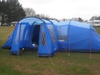 Various Camping Equipment - complete start up including tent and trailer.