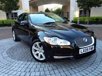 Jaguar XF 3.0 TD V6 Luxury 4dr£8,590 p/x welcome **FULL S/H*6 MONTHS WARRANTY