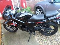 2015 Lexmoto XTRS 125 sports bike only done 320 miles Learner Legal