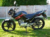 YAMAHA YBR 125 63 Reg 125cc Low Mileage