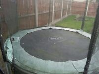 Big kids children trampoline with safety net