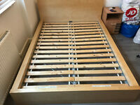 Ikea Malm Double Bed, Good Condition