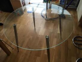 Lovely glass table