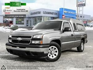 2006 Chevrolet Silverado 1500 REGULAR CAB, V6 4X2 LOCALLY OWNED.