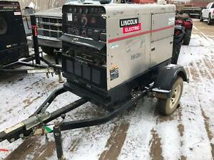 2011 Lincoln Vantage 500 Deutz Powered Welders w/Trailer