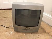 Free Portable TV with built in DVD Player