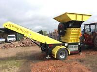 PTO Concrete Crusher 60 Ton Per hour