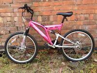 Dunlop Sport 25 Double Disc Full Suspension Adult Mountain Bike, Like new!!!