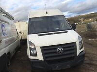 Volkswagen crafter van breaking