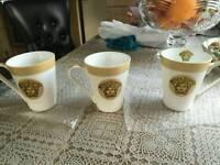 versace 6x cups all brand nee