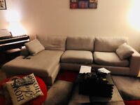 Three seater L shape sofa from Next Home