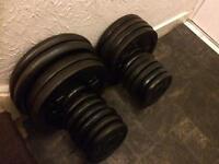 170kg standard cast iron weights