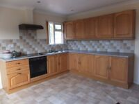Kitchen - Units, Worktop, Oven, Hob, Franke Sink, Mixer Taps, Extractor