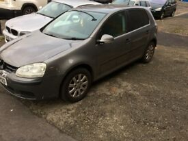 Vw golf 1.9 tdi grey spares or repair light damage 2006