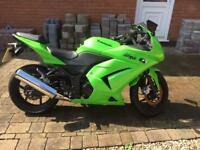 Kawasaki Ninja 250. 2010. 10 Plate. Great Condition