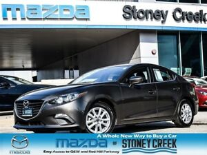 2014 Mazda MAZDA3 GS Auto NEW RR Brakes B/UP CAM B/Tooth Alloy!