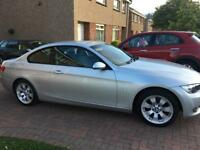 2008 57 BMW 320D SE COUPE. 6 SPEED, CRUISE, 1 YEARS MOT NO ADVISORIES