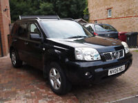 2005 NISSAN X-TRAIL SVE DCI 2.2L 4x4 - 12 Month MOT Turbo Diesel Black 6 Speed Manual Leather Towbar
