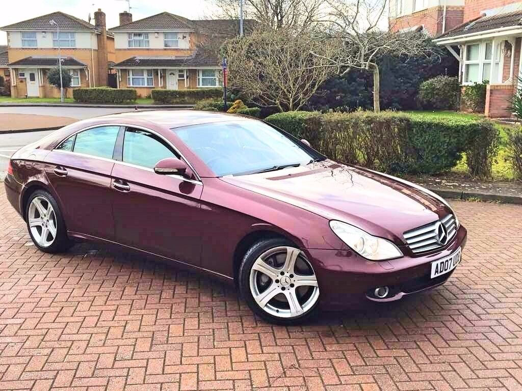 2007 mercedes benz cls class 5 5 cls500 4d auto 383 bhp. Black Bedroom Furniture Sets. Home Design Ideas