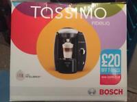 Bosch Tassimo Fidelia Coffee Maker, Silver