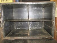 Industrial Style Old Tin Storage Cabinet